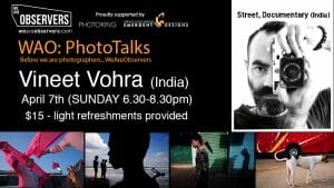 Vineet Vohra PhotoTalk